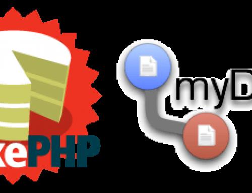 MyDBR + CakePHP + Apex Evaluation