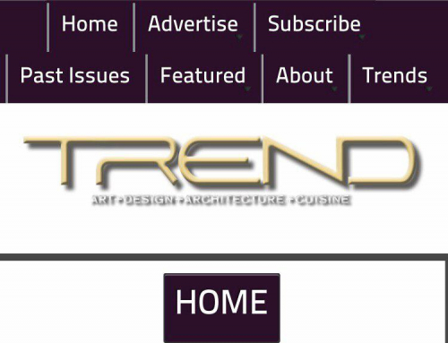 Trend Mobile Site Design