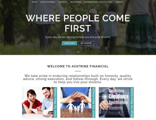 Avatrine Financial – Email Marketing Campaign