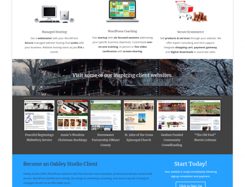 Oakley Studio – New WordPress Plugin
